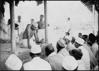 Gandhiji Teaching